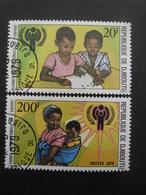 DJIBOUTI N°495 Et 496 Oblitérés - Timbres