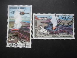 DJIBOUTI N°497 Et 498 Oblitérés - Timbres