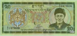 Bhutan 20 Ngultrum (P23) -UNC- - Bhutan