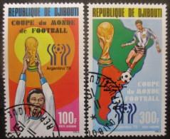 DJIBOUTI Poste Aérienne N°121 Et 122 Oblitérés - Timbres