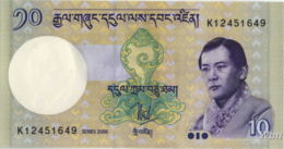Bhutan 10 Ngultrum (P29) 2006 -UNC- - Bhutan