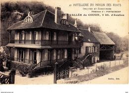 89 . Yonne :  Pontaubert : Hotellerie Du Moulin Des Ruats . - Autres Communes