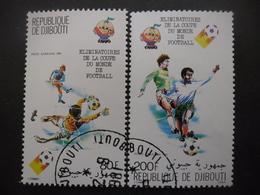 DJIBOUTI Poste Aérienne N°147 Et 148 Oblitérés - Timbres