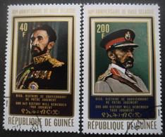 GUINEE N°492 Et 493 Oblitérés - Timbres