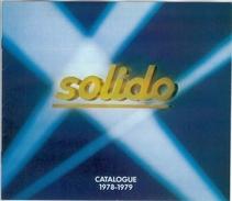 Catalogue SOLIDO 1978/79 - Catalogues & Prospectus