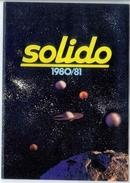 Catalogue SOLIDO 1980/81 - Catalogues & Prospectus