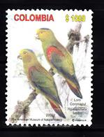 Colombia 2003 Mi Nr  2237  Fuertes Andespapegaai - Colombia