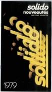 Catalogue SOLIDO 1979 Nouveautés - Catalogues & Prospectus