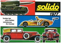 Catalogue SOLIDO 1977-2 - Catalogues & Prospectus