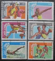 MOZAMBIQUE Série N°666 Au 671 Oblitérés - Timbres