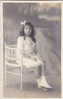 Fotokaart, Kunstfoto, Carte Photo, Petite Fille, Envoyé A Liege 1913 (pk58492) - Photographie