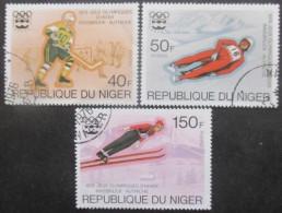 NIGER Série N°352 Au 354 Oblitérés - Timbres