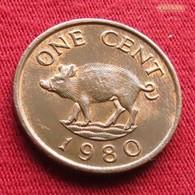Bermuda 1 Cent 1980 KM# 15 Bermudes Bermudas - Bermuda