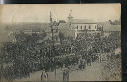 La Foule à Rossignol Pour Les Martyr De 1914/18  écrite: Tintigny 1920 - Tintigny