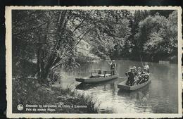 Descente En Barquettes De Chiny à Lacuisine  Pris Du Rocher Pinco; écrite Chiny 11/08/1953 - Chiny