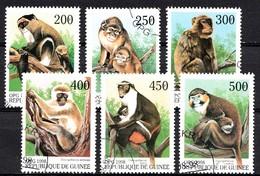 GUINEE 1998 MI.NR. Afrikanische Tiere  USED / GEBRUIKT / OBLITERE 1994 - Guinee (1958-...)