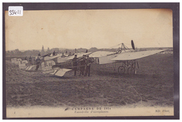 AVIATION - AVION - ESCADRILLE D'AEROPLANES EN 1914 - TB - ....-1914: Precursori