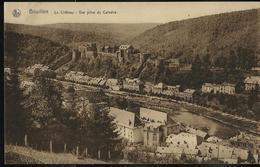 Le Château - Vue Prise Du Calvaire - écrite: Bouillon 1933 - Bouillon