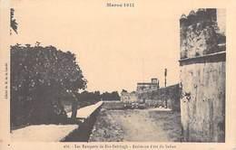 MAROC 1911> FEZ (Dar Dbibag) Les Remparts De DAR DEBIBAGH Résidence D'été Du Sultan(Cliché M.de La Lande 188)*PRIX FIXE - Fez (Fès)