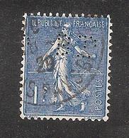 Perforé/perfin/lochung France No  205 BP  Banque De Paris Et Des Pays Bas (143) - France