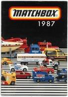 MATCHBOX Catalog 1987 - Catalogues & Prospectus