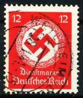 DEUTSCHES-REICH DIENST Nr 138a Gestempelt X64319A - Dienstpost