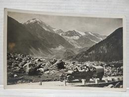 Simplonroute. Blick A. Fletschhorn 4001m - VS Valais