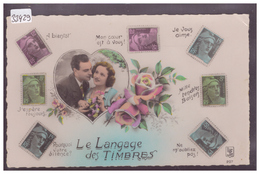 LANGAGE DES TIMBRES POSTE FRANCAIS - TB - Timbres (représentations)