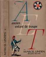 AET ANCIEN ENFANT DE TROUPE BILLOM 1916 1920 RECIT ARMEE LIBERATION 1ere DFL - Libros