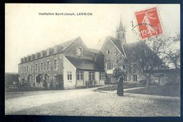 Cpa Du 22  Lannion Institution Saint Joseph  ACH13 - Lannion