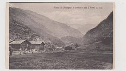 PIANO  Di  ASSEGNO (SO) E Sentiero Per I FORNI  M.1800 ,  Annullo Di BIANZONE (SO) - F.p. -  Anni '1900 - Sondrio