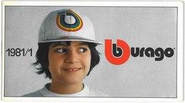 Catalogue BURAGO 1981 Katalog - Catalogues & Prospectus