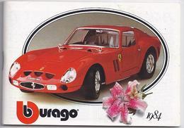 Catalogue BURAGO 1984 Katalog - Catalogues & Prospectus