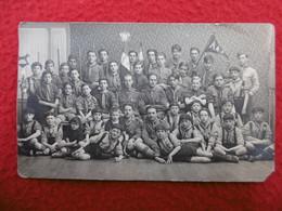 SCOUTS TROUPE ET MEUTE DE TOULOUSE ROQUES HERISSON CARTE PHOTO PROVOST - Scouting