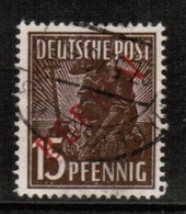 GERMANY---Berlin  Scott # 9N 25  VF USED (Stamp Scan # 477) - Used Stamps