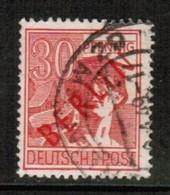 GERMANY---Berlin  Scott # 9N 28  VF USED (Stamp Scan # 477) - Used Stamps