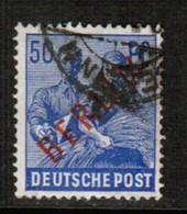 GERMANY---Berlin  Scott # 9N 30  VF USED (Stamp Scan # 477) - Oblitérés