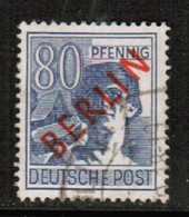 GERMANY---Berlin  Scott # 9N 32  VF USED (Stamp Scan # 477) - Oblitérés