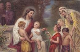 Jesus, Laissez Venir A Moi Les Petits Enfants, Laat De Kleine Kinderen Tot Mij Komen (pk58517) - Jésus