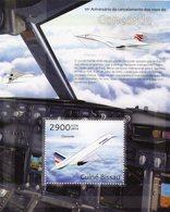 Guine-Bissau 2013  -  Concorde   -   1v MS  Neuf/Mint/MNH - Concorde