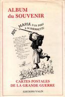ALBUM DU SOUVENIR CARTES POSTALES DE LA GRANDE GUERRE 1914 1918 - Libri