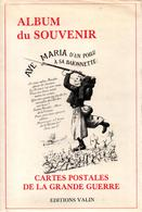 ALBUM DU SOUVENIR CARTES POSTALES DE LA GRANDE GUERRE 1914 1918 - French