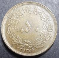 Iran 50 Dinars 1977 MS 2536 KM#1156a Very High Grade Rare! - Iran