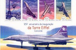 Guine-Bissau 2014  -  Concorde   -   4v Feuillet  Neuf/Mint/MNH - Concorde