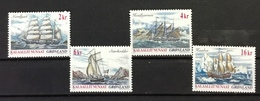 GREENLAND # 397-400.  Ships. Complete Set Of Four.  MNH (**) - Greenland