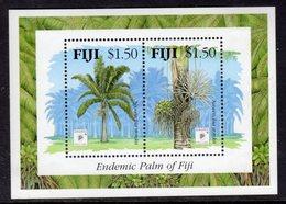 FIJI - 1994 PALMS MINIATURE SHEET MINT MM * SG MS899 - Fiji (1970-...)
