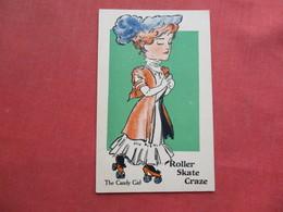 The Candy Girl  Roller Skate Craze     > Ref 3254 - Postcards