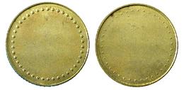 02672 GETTONE TOKEN JETON UNDETERMINATED ANONYMOUS BRASS - Jetons En Medailles