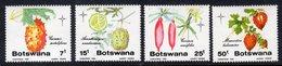 BOTSWANA - 1985 CHRISTMAS WILD CUCUMBER FRUITS SET (4V) MINT MM * SG 586-589 - Botswana (1966-...)