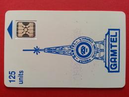 GAMBIA - GAMTEL 125u SC4 Blue Logo CN : 16592 GAMBIE GAM-01 (CB1217 - Gambie